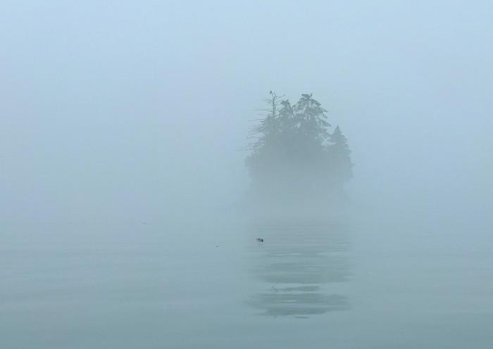 2) A foggy approach.