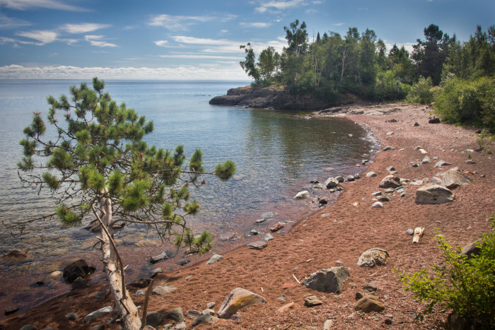 4. Iona's Beach SNA between Gooseberry Falls State Park and Split Rock Lighthouse State Park. When you go, see if you can identify the unique noise the pebbles make when the water moves them.