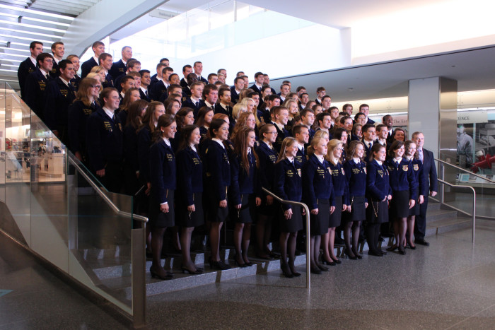 3. FFA receives the respect it deserves.