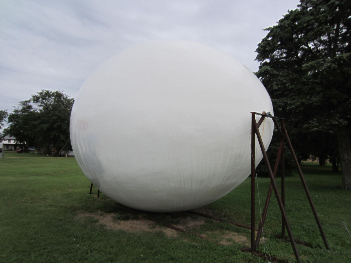 8. World's Largest Czechoslovakian Egg (Wilson)