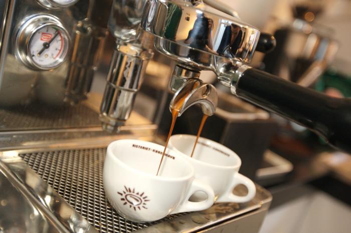 2) Espresso.