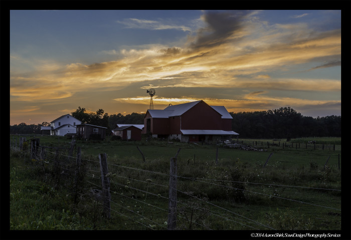15. No where else in the world will you find a rural sunset as heartwarming as Ohio's.