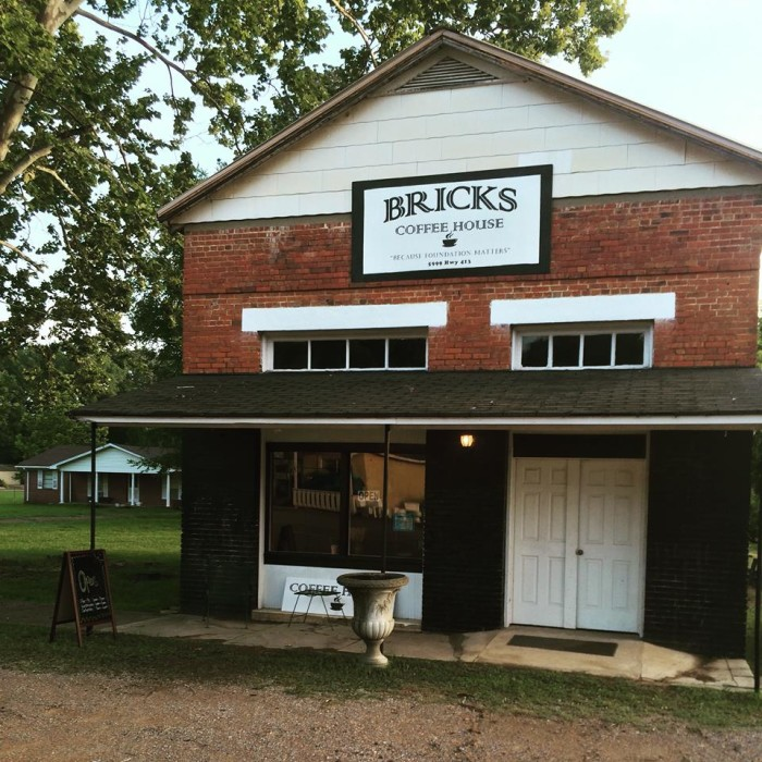 4. Brick's Coffee House, French Camp