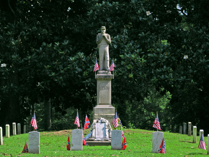 1. In 1866, a group of women visited a Columbus cemetery and adorned the graves of both Confederate and Union soldiers with flowers. This is acknowledged as one of the first observances of Memorial Day. (If starting Memorial Day isn't patriotic, I don't know what is!)