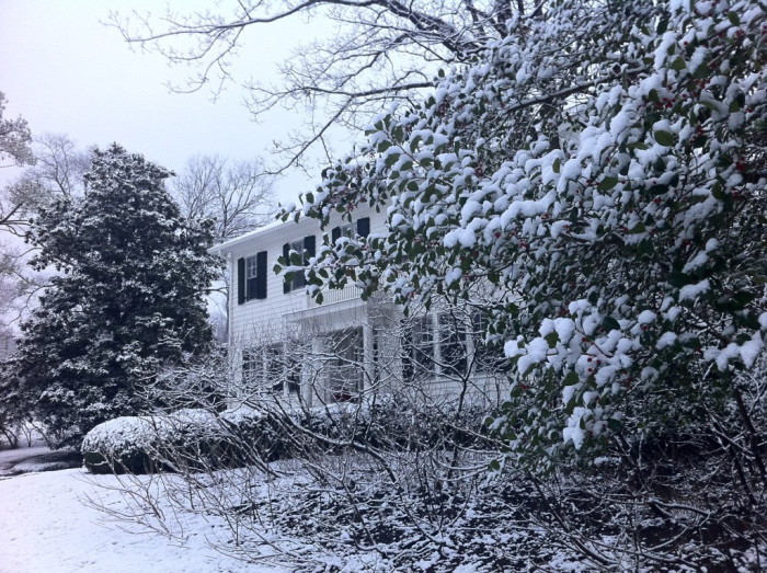 15) A perfect white Christmas in Nashville