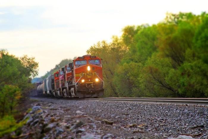 15.On the tracks, O'Fallon, by Nikki Coglan.