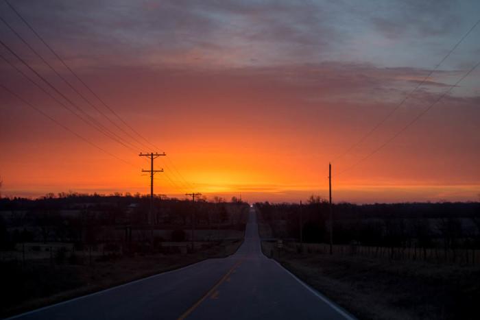 15. The most amazing sunrises...