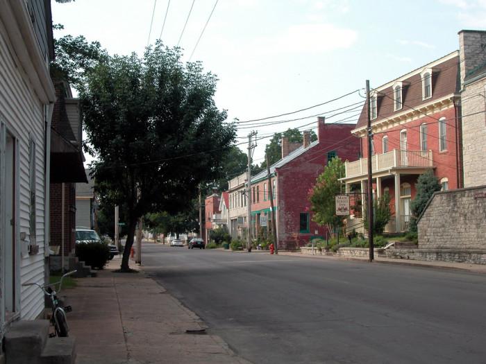 15. Town street