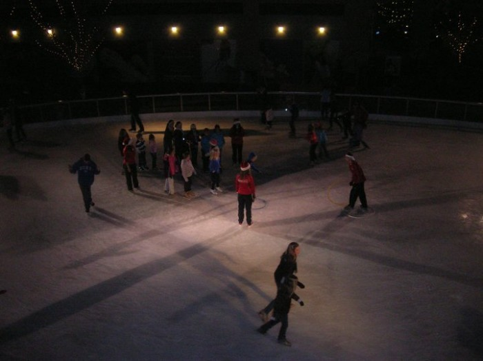 6. The Ice at Park Place is FINALLY open!