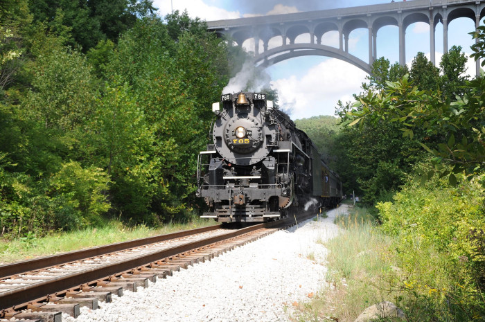 6. The Cuyahoga Valley Scenic Railroad