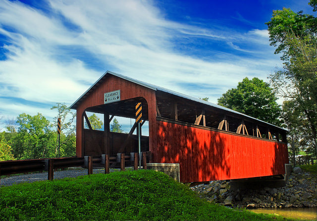 5. Frazier Covered Bridge, Moreland Township