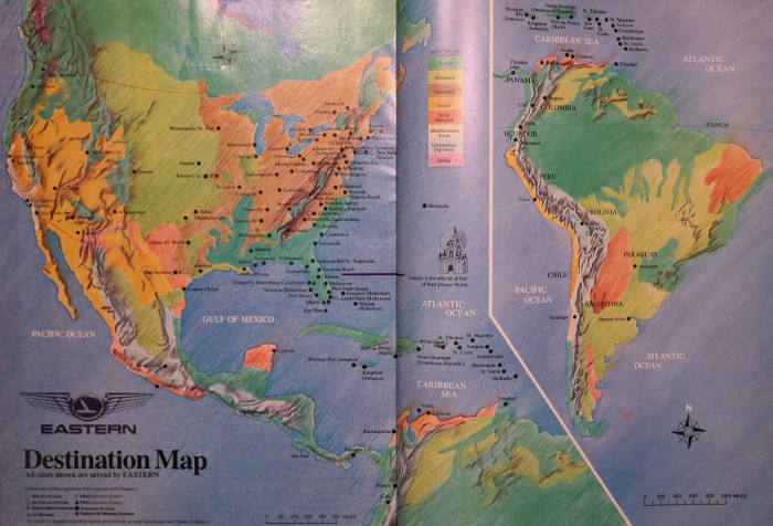 1. We used maps to figure out where we were going.