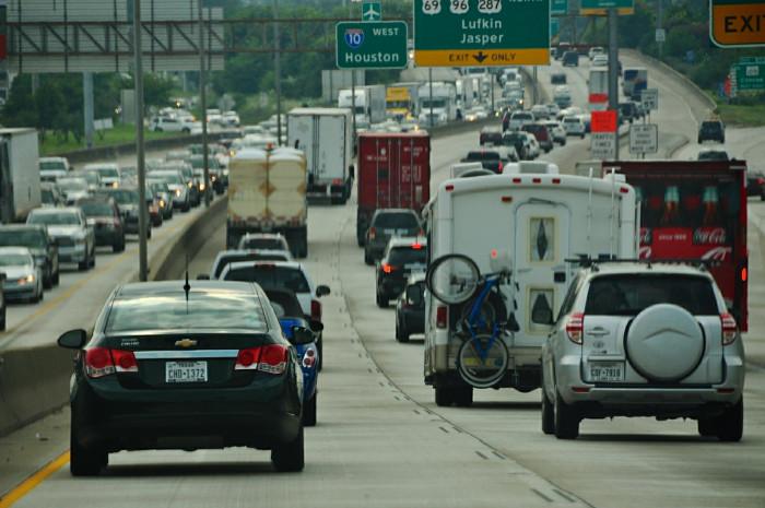 9) Traffic jams
