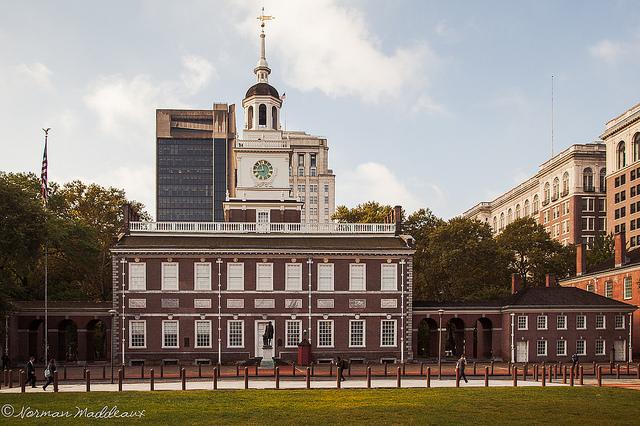 1. Independence Hall, Philadelphia