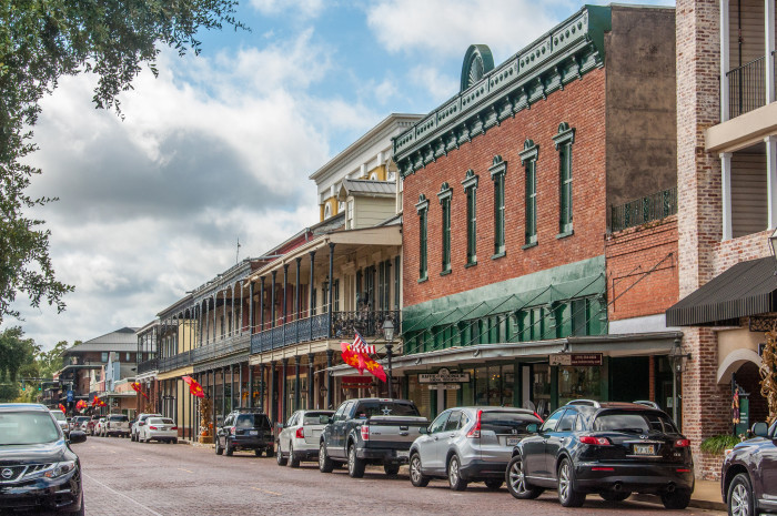7. Front Street, Natchitoches, LA