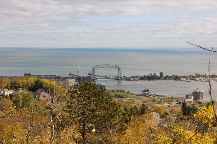 3. Taking a drive on Skyline Parkway or walking up Enger Tower.