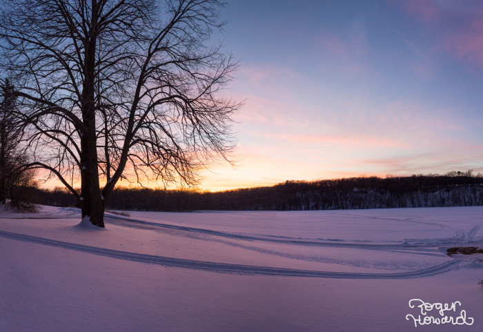 14. Back in Spring Valley, another look at this one-of-a-kind sunset reveals an even more gorgeous perspective.