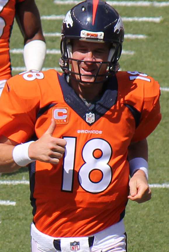 10. Peyton Manning bought 21 Papa John's franchises in Colorado  before marijuana was legalized. He credits the new law with his  booming success.