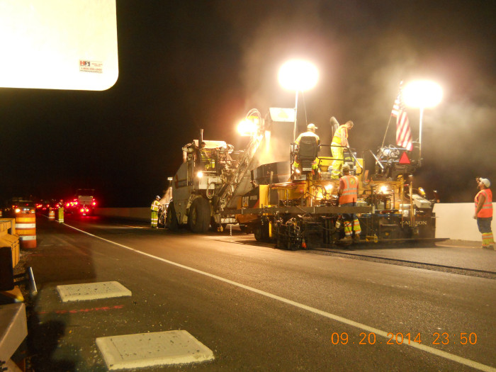 3. Repair all the roads and make sure it's done at night when there's less traffic. (An exception to Rule #1.)