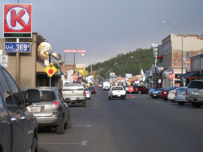 6. Like many other small towns along the Mother Road, the Main Street in Williams is Route 66.