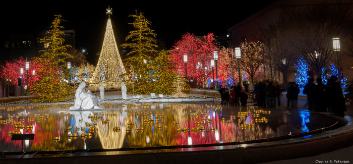 14. Christmas at Temple Square