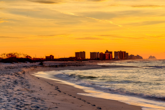 1. Gulf Coast Beaches