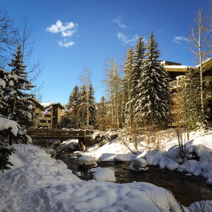 12. Gorgeous Gore Creek