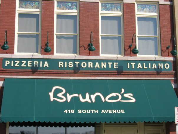 15.Bruno's Restaurant, Springfield