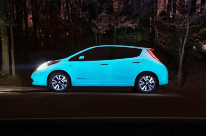 10. All cars should be able to glow in the dark.