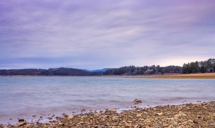7. Lake in the Blue Ridge Mountains