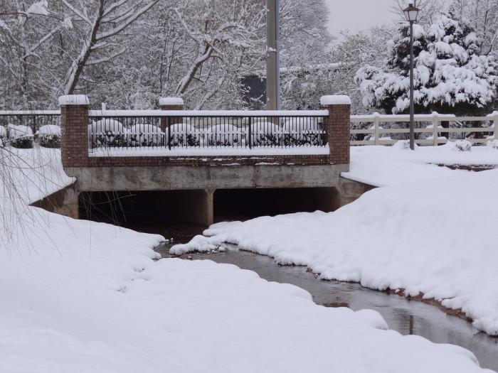 11. This is another beautiful winter scene captured in Huntsville.