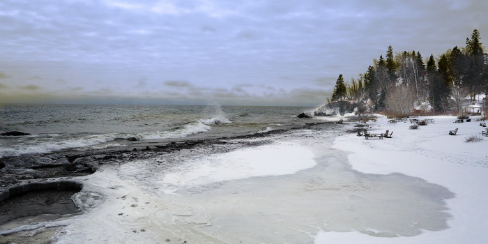 17. Another amazing shot of the shore at Lutsen...
