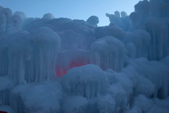 3. It's also time for the best winter celebrations and attractions like the ice castles!