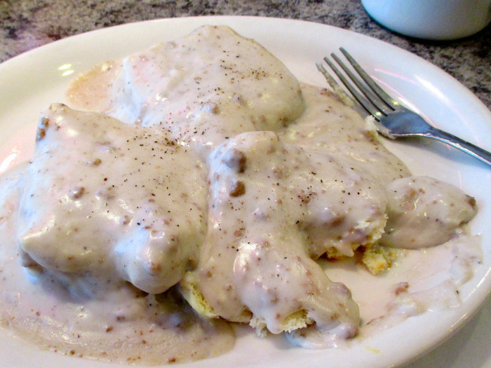 3. Biscuits and gravy