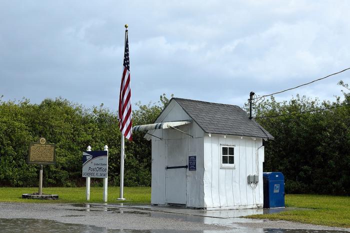 10. Smallest Post Office in the US, Ochopee