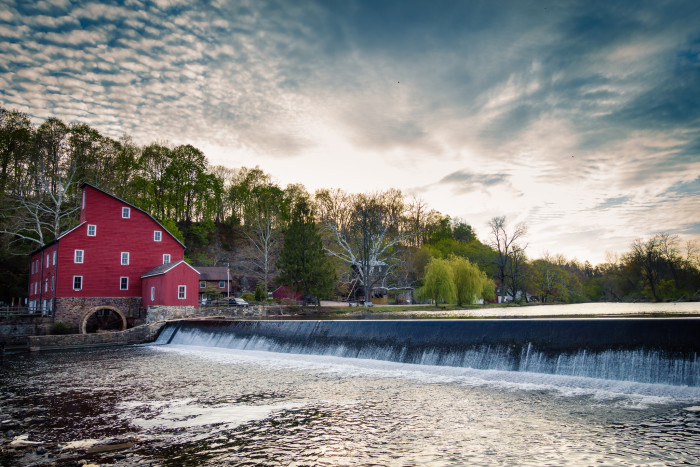 2. The Red Mill, Clinton.