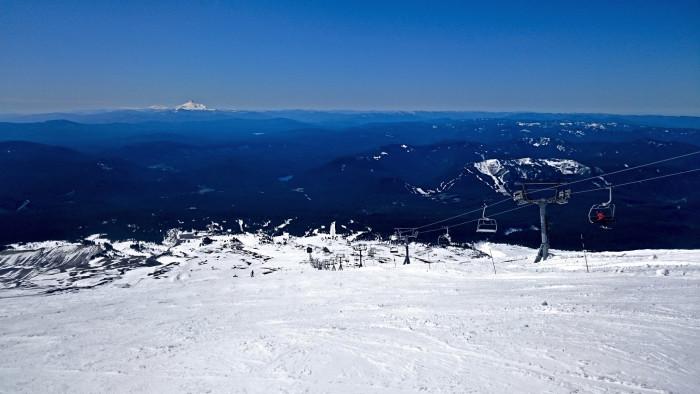 7. It's ski season.