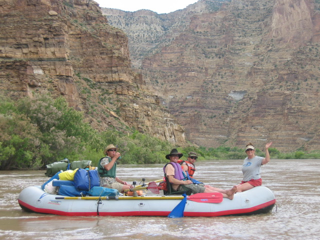 17. Float down the river in Desolation Canyon.