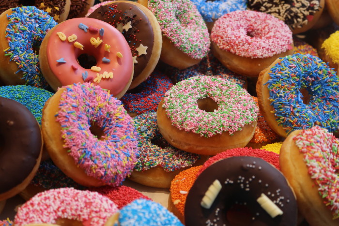 4. The holes in donuts.