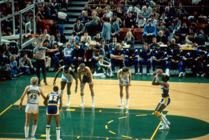 5. 1979: The Seattle SuperSonics win the  NBA Finals.