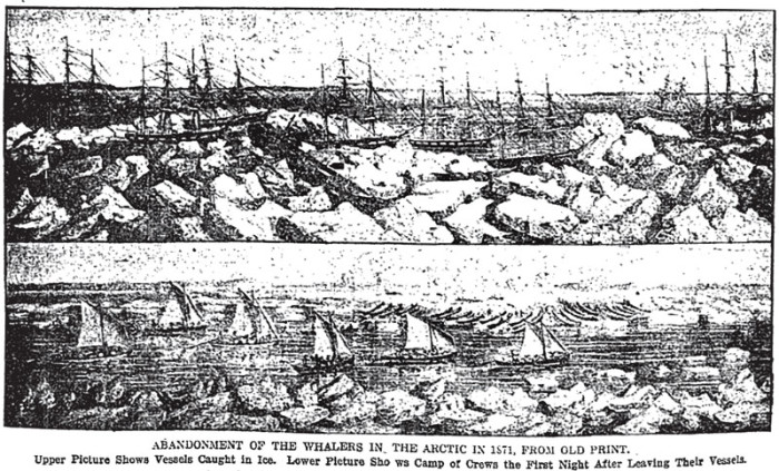 1) The Whaling Disaster of 1871