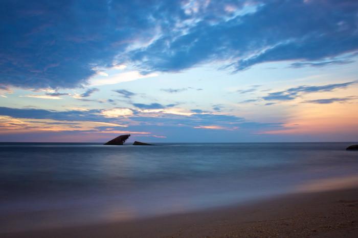 10. The Cape May coastline.