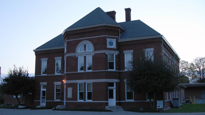 First, here is a picture of the 1895 Pathology Building on the grounds of Central State Hospital.