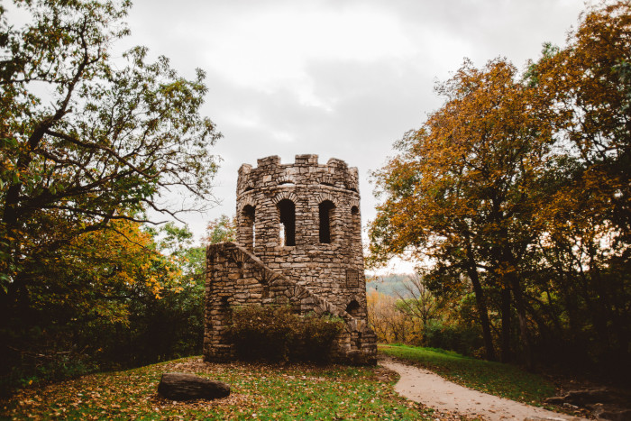 1. Clark Tower, Winterset
