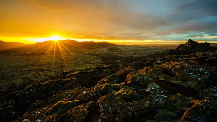 1) The Midnight Sun.