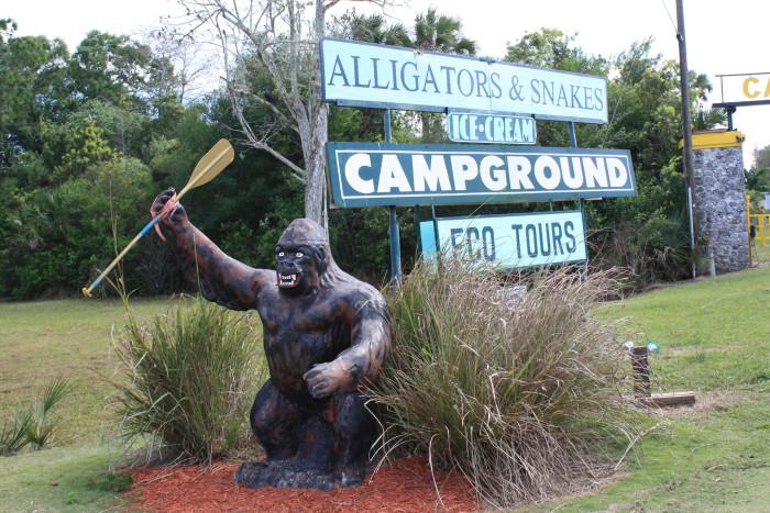 3. Skunk Ape Research Headquarters, Ochopee