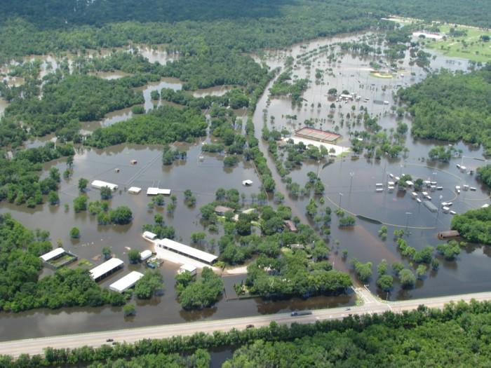 2) Flooding