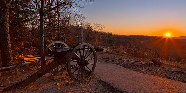 8. Gettsyburg Battlefield