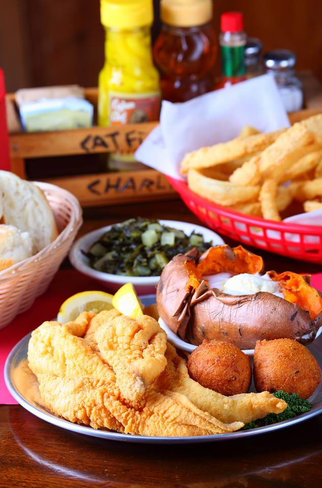 1. You've eaten the best catfish and barbecue around.
