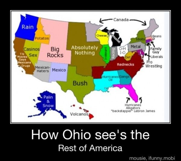 "8. ""How Ohio Sees the Rest of America"""